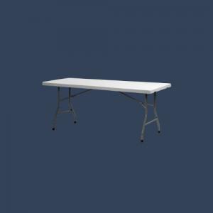 Table rectangulaire pliable
