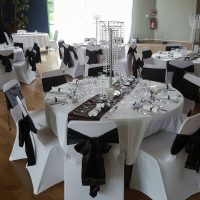 table noir et blanc