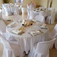 photo table de mariage thème champêtre