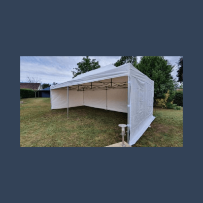 Nouvelle tente 4x8 mètres